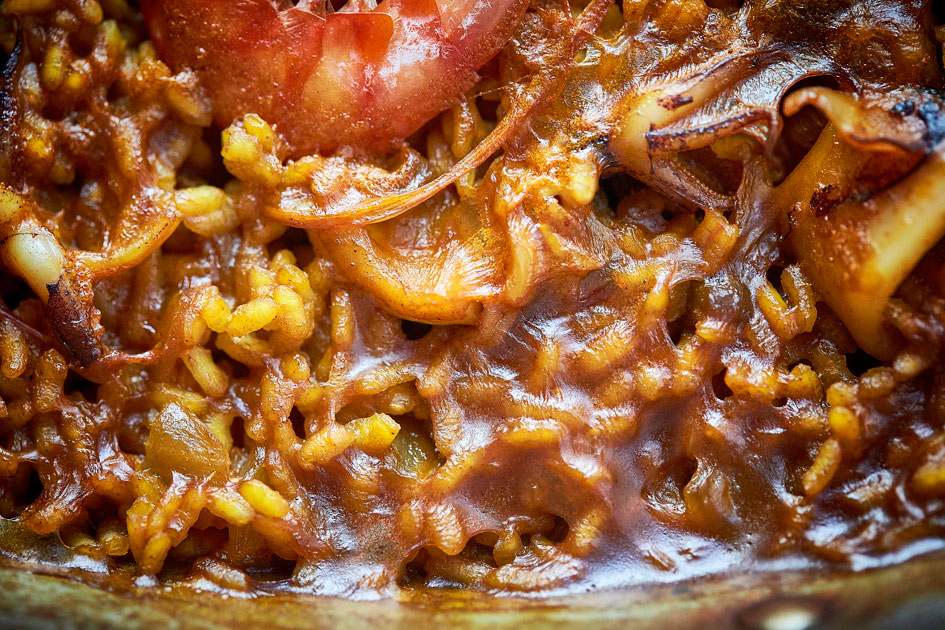 Arroz de frutos del mar