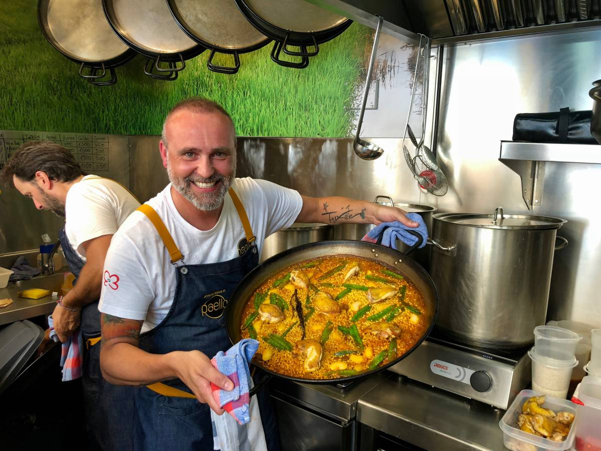罗德里格·德拉卡列的西班牙海鲜饭